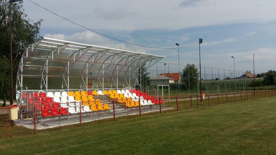Otvorenie futbalove tríbúny v Sebechleboch