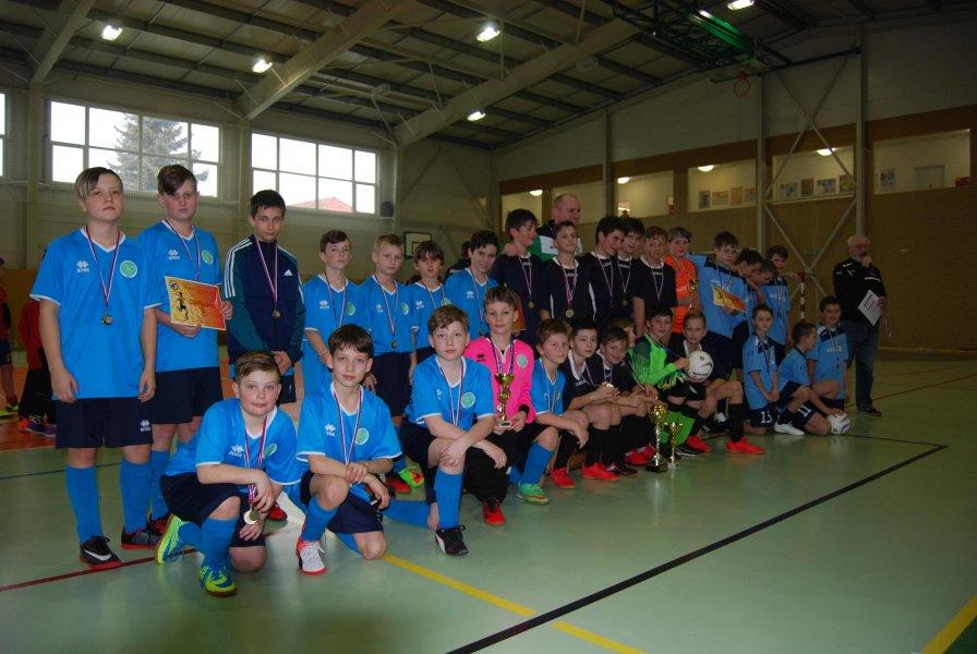 Výsledky turnaju ObFZ ZV - KM, žiaci U13 - 09.02.2019